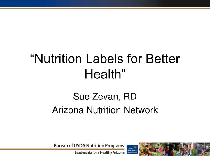 nutrition labels for better health n.
