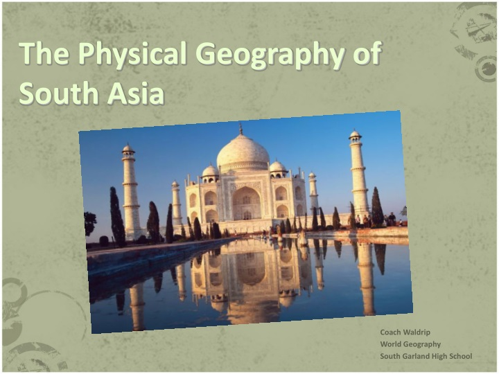 the physical geography of south asia n.