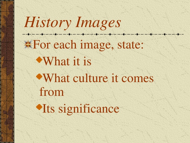 history images n.