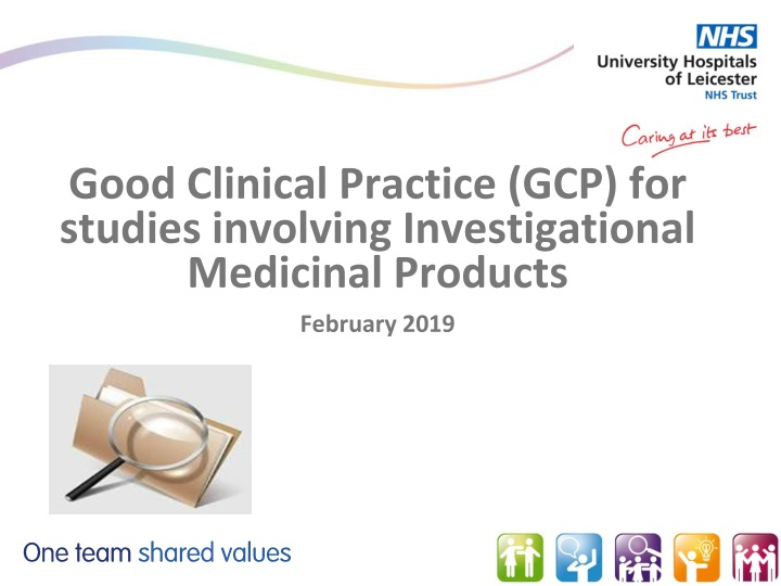 good clinical practice gcp for studies involving investigational medicinal products february 2019 n.