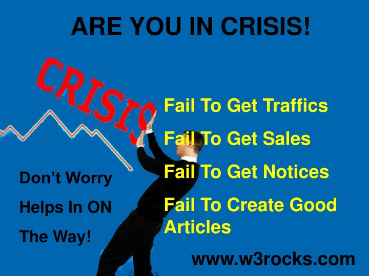 are you in crisis n.