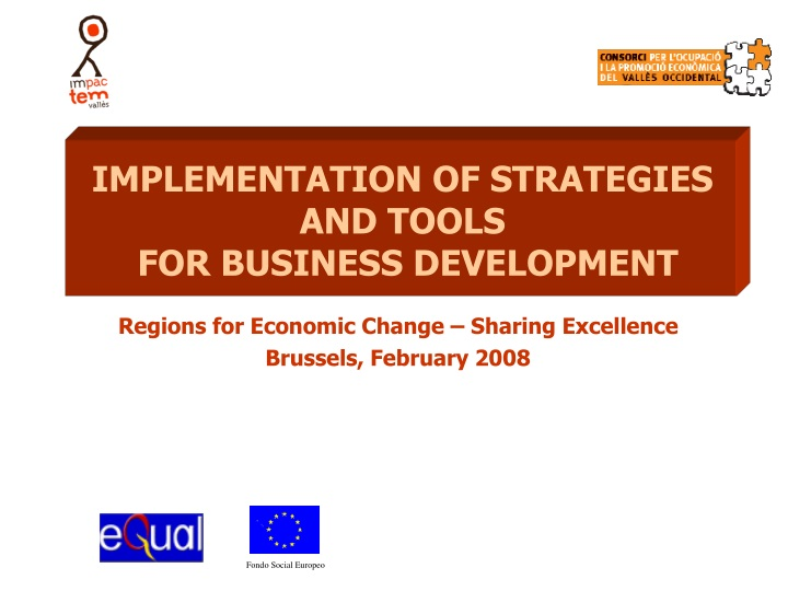 implementation of strategies and tools n.