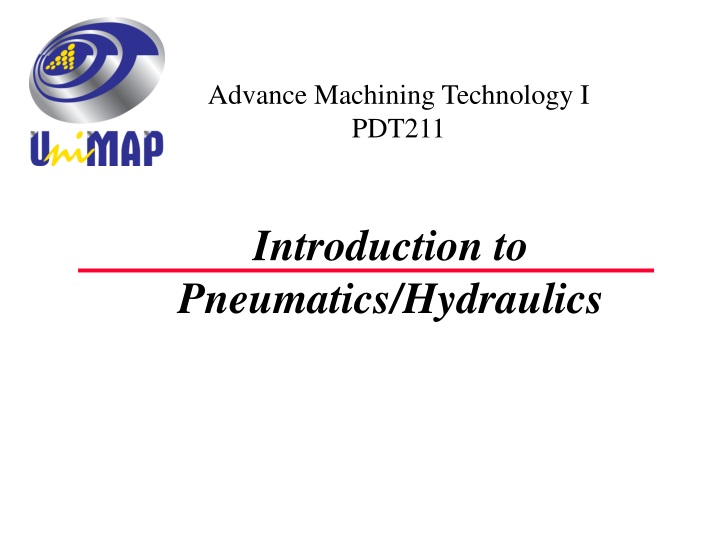 introduction to pneumatics hydraulics n.