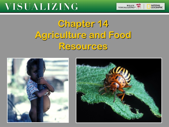 chapter 14 agriculture and food resources n.