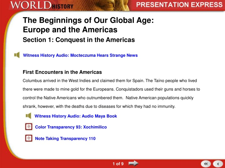 the beginnings of our global age europe and the americas n.