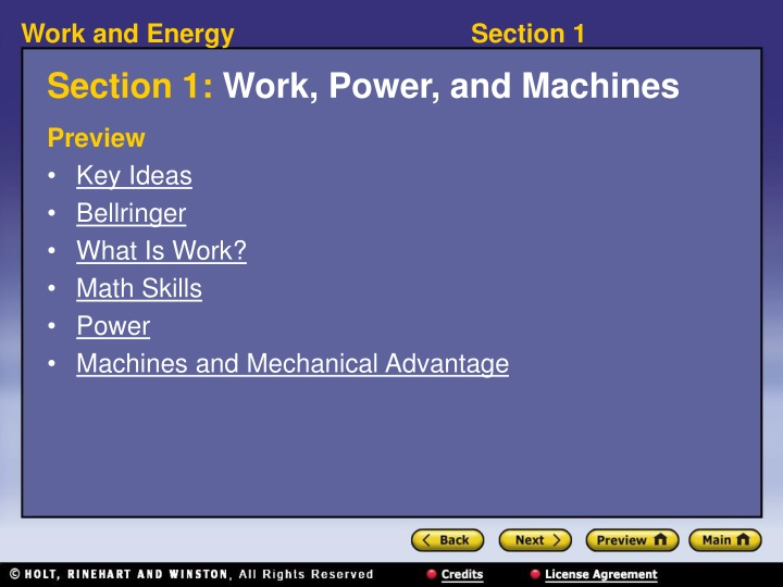 section 1 work power and machines n.