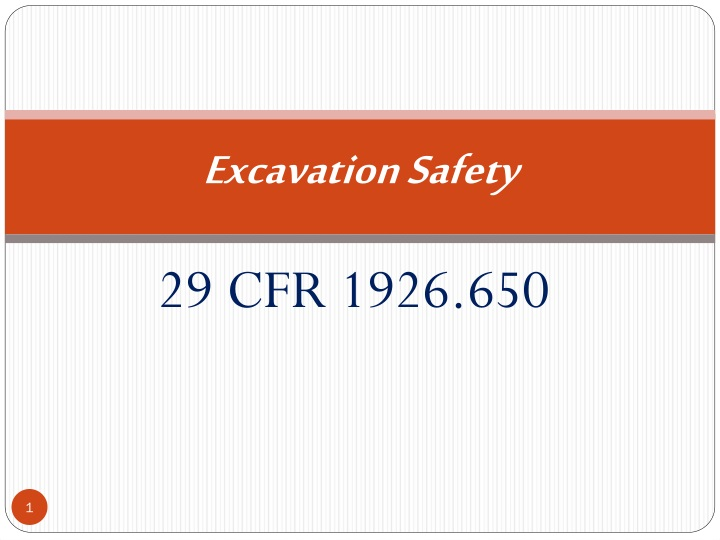 Ppt Excavation Safety Powerpoint Presentation Free Download Id 206727