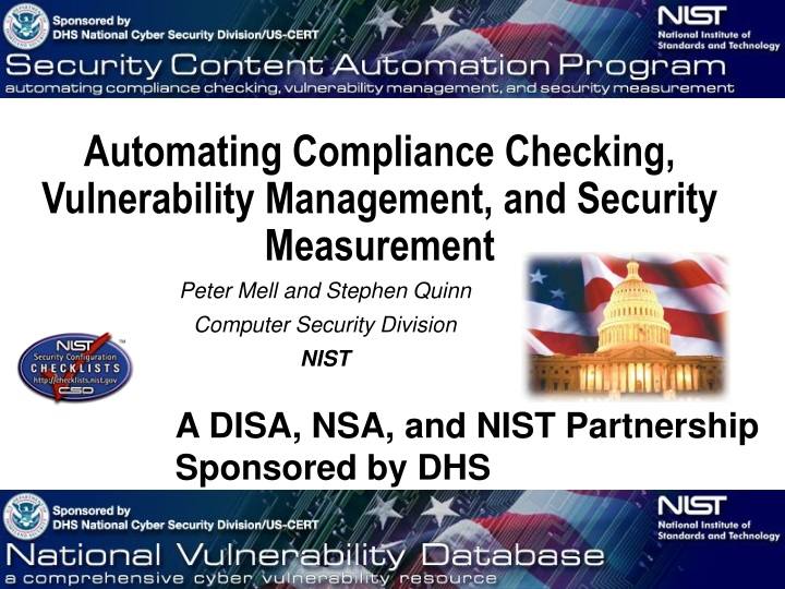 automating compliance checking vulnerability n.