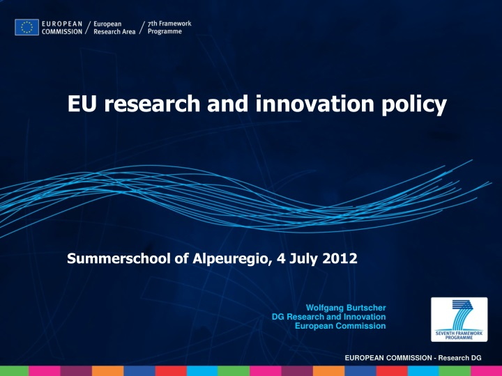 eu research and innovation policy n.