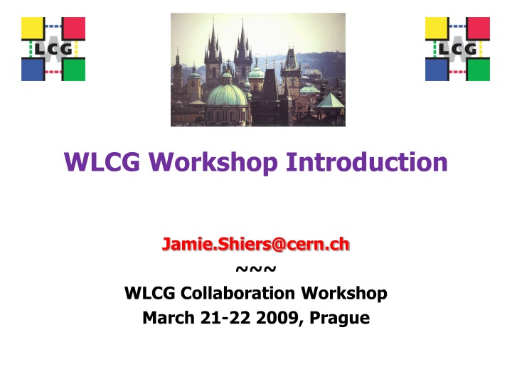 wlcg workshop introduction n.