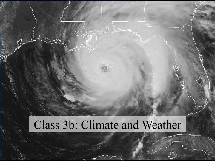 class 3b climate and weather n.