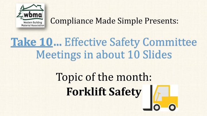 compliance made simple presents n.
