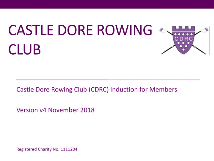 castle dore rowing club n.