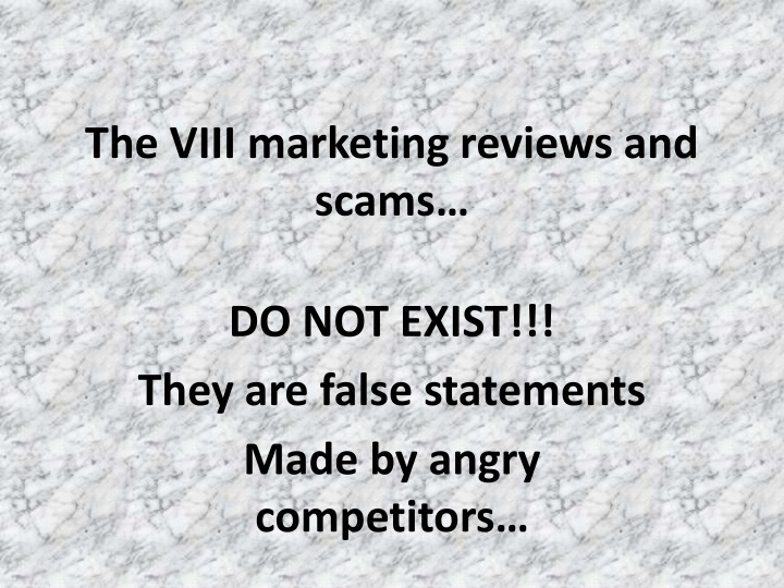 the viii marketing reviews and scams n.