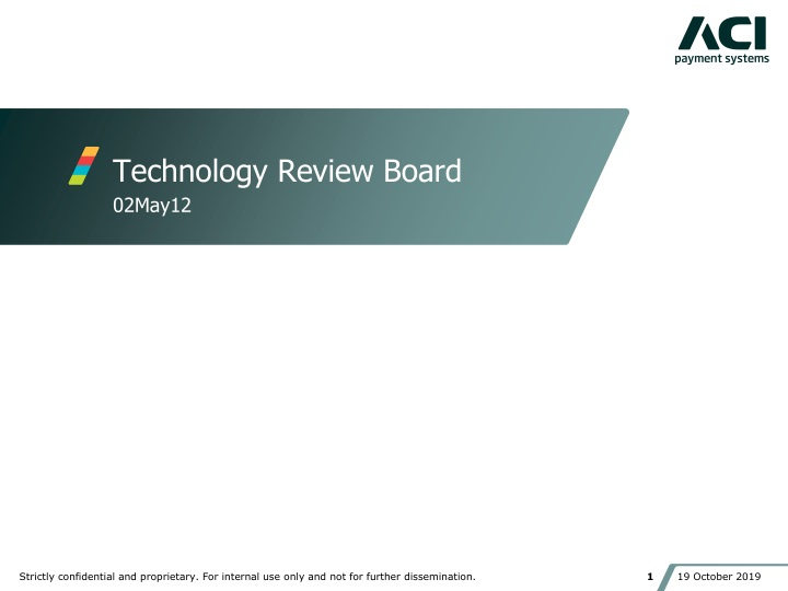 technology review board n.