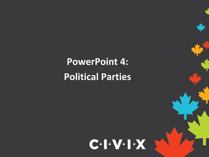 powerpoint 4 political parties n.