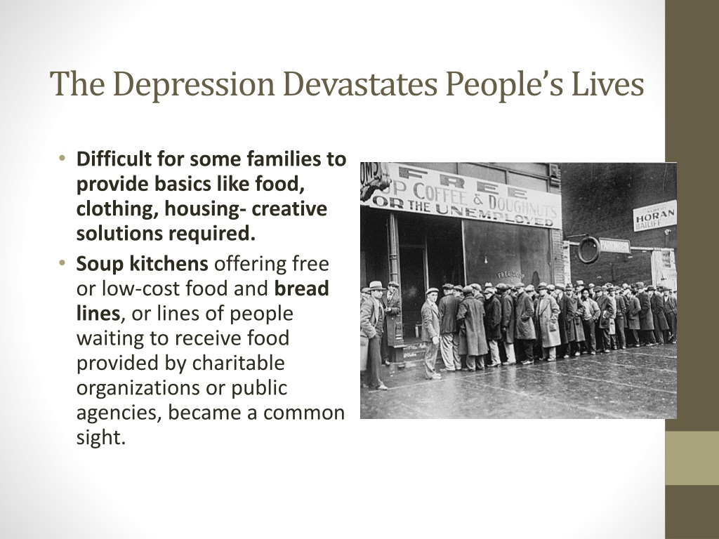 PPT - The Great Depression : PowerPoint Presentation, free ...
