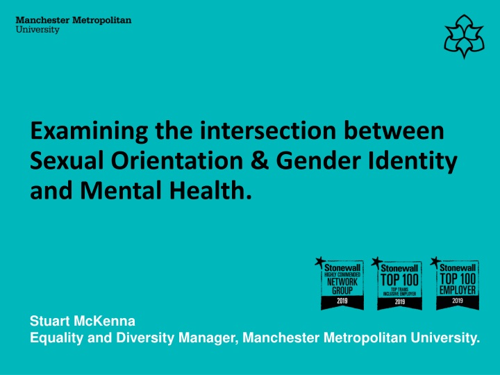 examining the intersection between sexual orientation gender identity and mental health n.