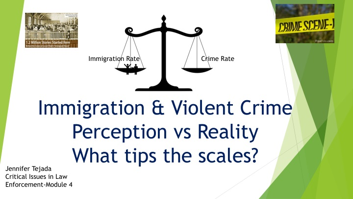 immigration violent crime perception vs reality what tips the scales n.