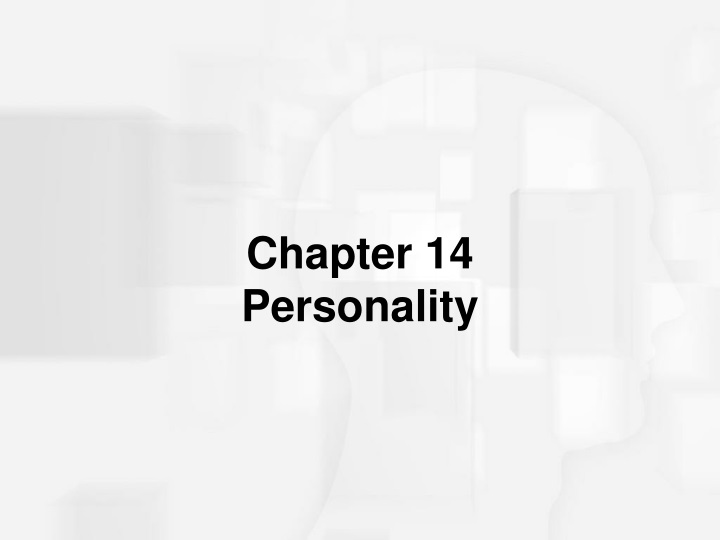 chapter 14 personality n.