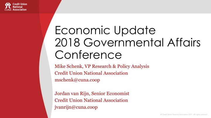 economic update 2018 governmental affairs conference n.