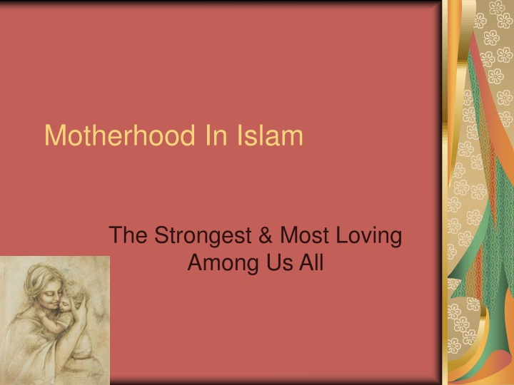 motherhood in islam n.