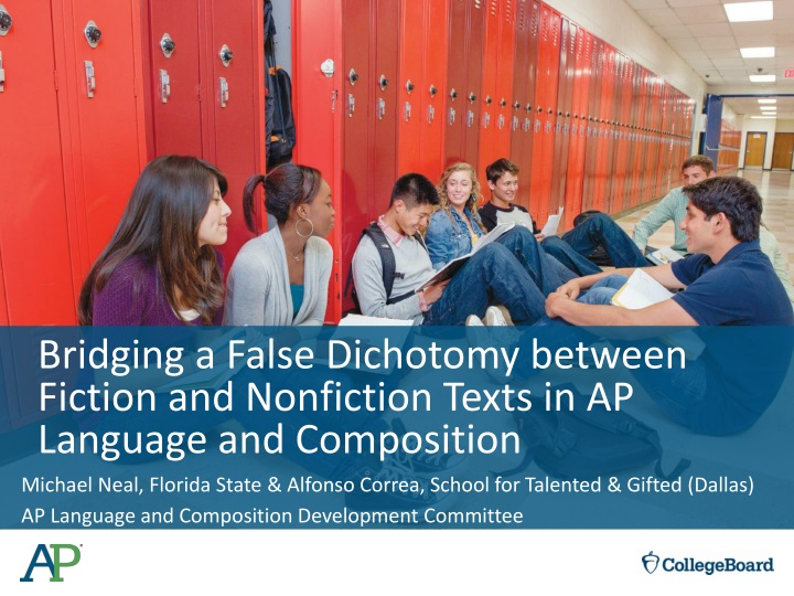 bridging a false dichotomy between fiction and nonfiction texts in ap language and composition n.