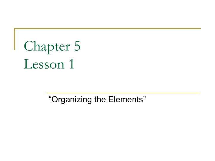 chapter 5 lesson 1 n.