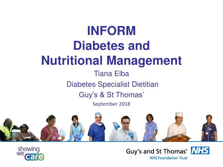 inform diabetes and nutritional management n.