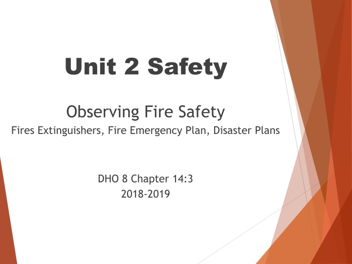 unit 2 safety observing fire safety fires n.