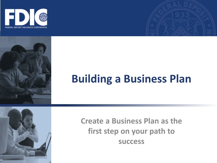 building a business plan n.