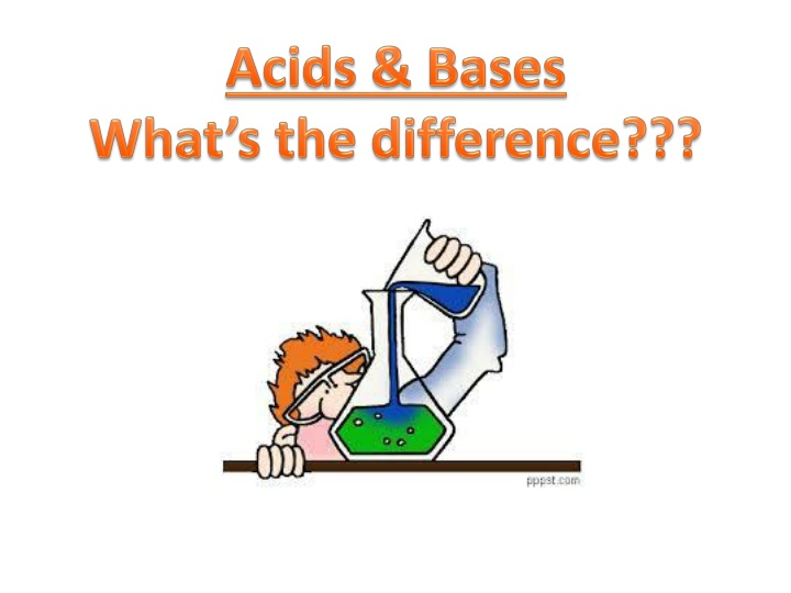 acids bases what s the difference n.