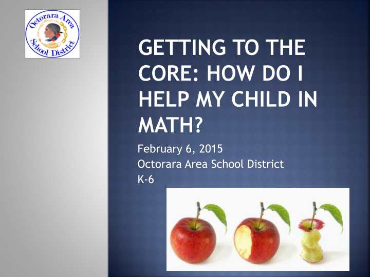 getting to the core how do i help my child in math n.