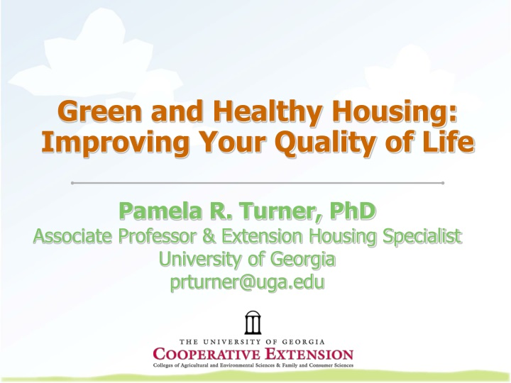 green and healthy housing improving your quality of life n.