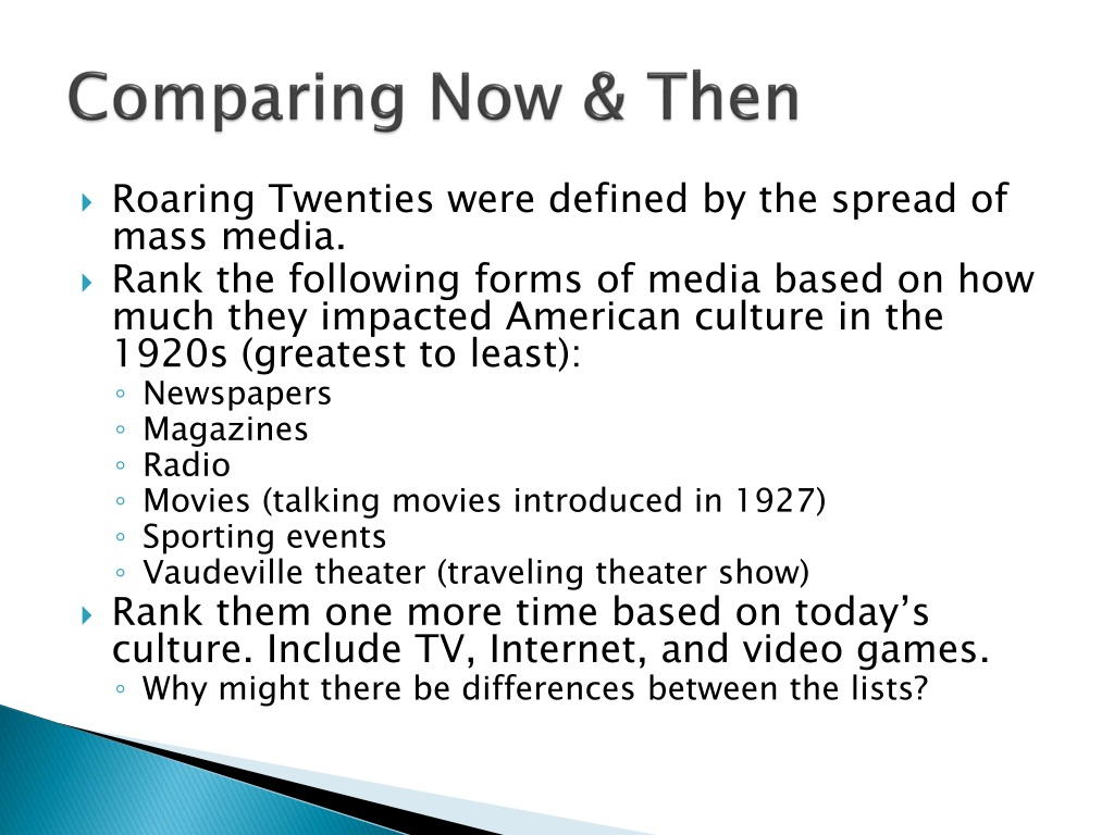 PPT - The Roaring Twenties PowerPoint Presentation, free ...