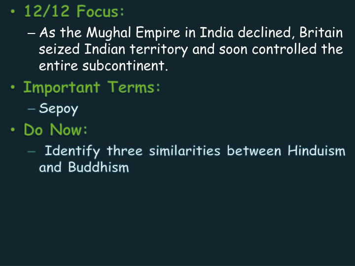 12 12 focus as the mughal empire in india n.