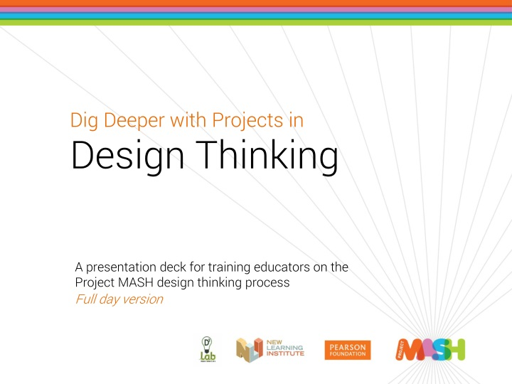 dig deeper with projects in design thinking n.