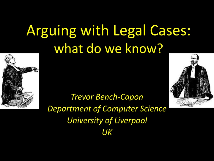arguing with legal cases what do we know n.