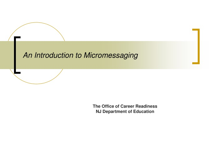 an introduction to micromessaging n.