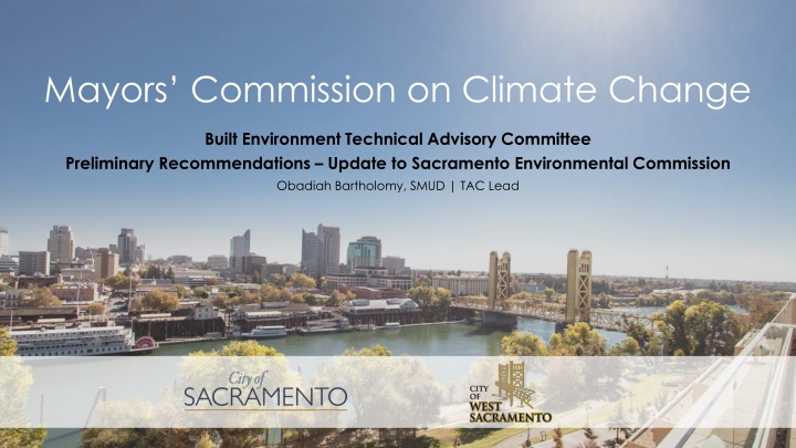 mayors commission on climate change n.