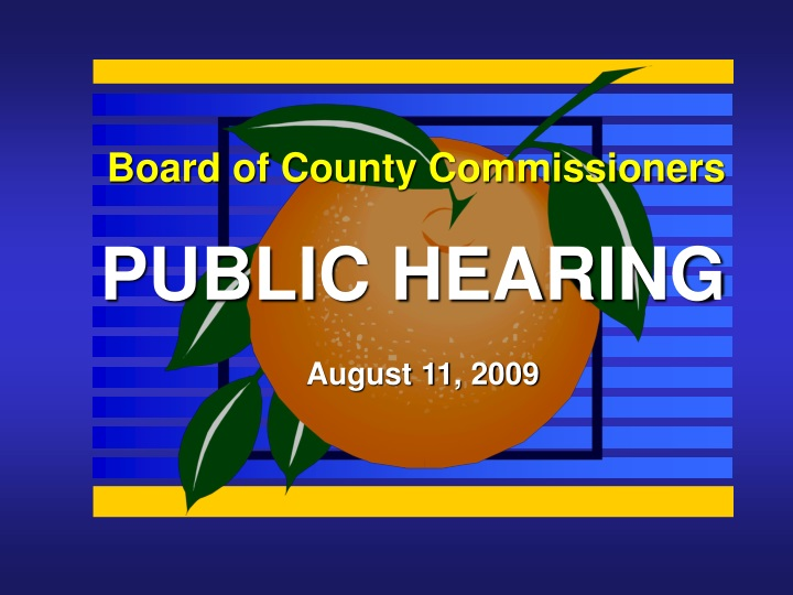 board of county commissioners n.