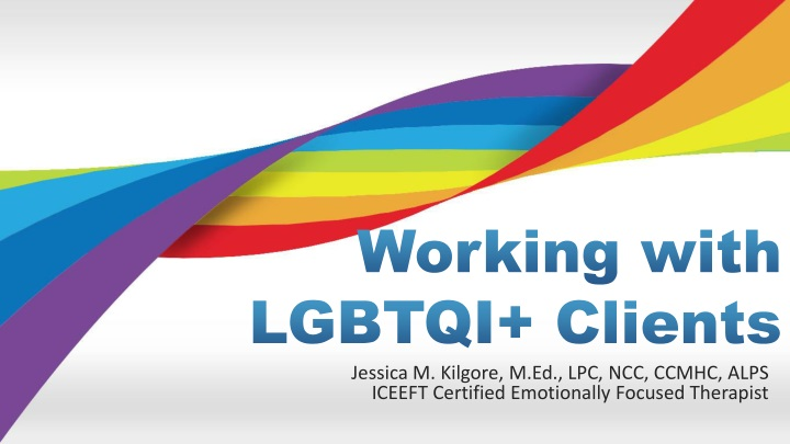 working with lgbtqi clients n.