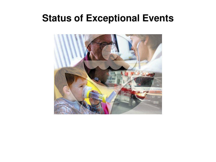 status of exceptional events n.