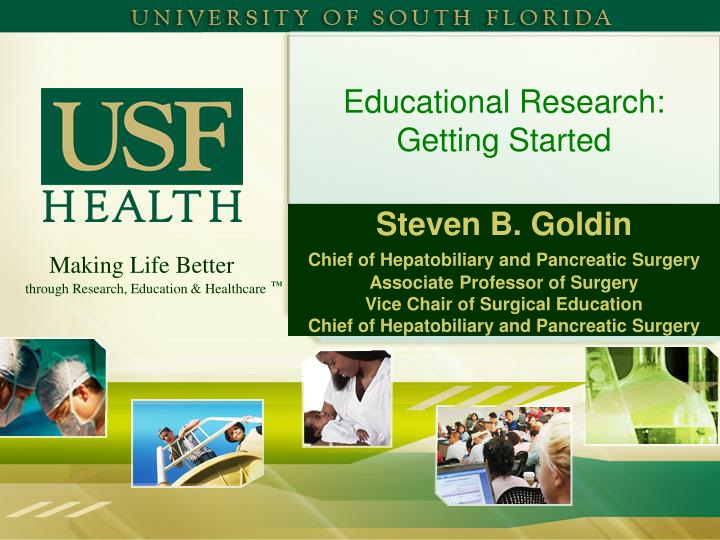 educational research getting started n.