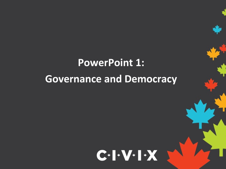 powerpoint 1 governance and democracy n.