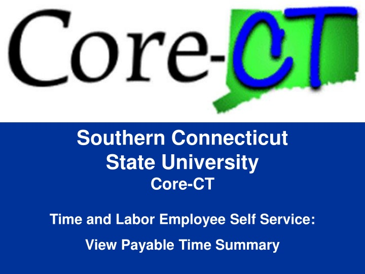 southern connecticut state university core n.