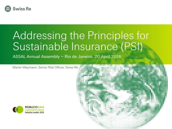 addressing the principles for sustainable insurance psi n.