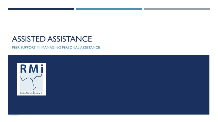 assisted assistance n.