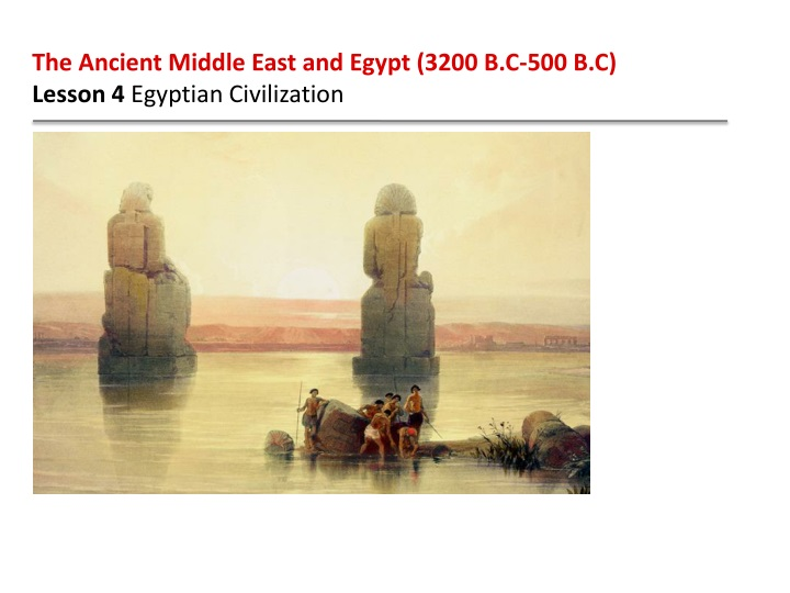the ancient middle east and egypt 3200 n.