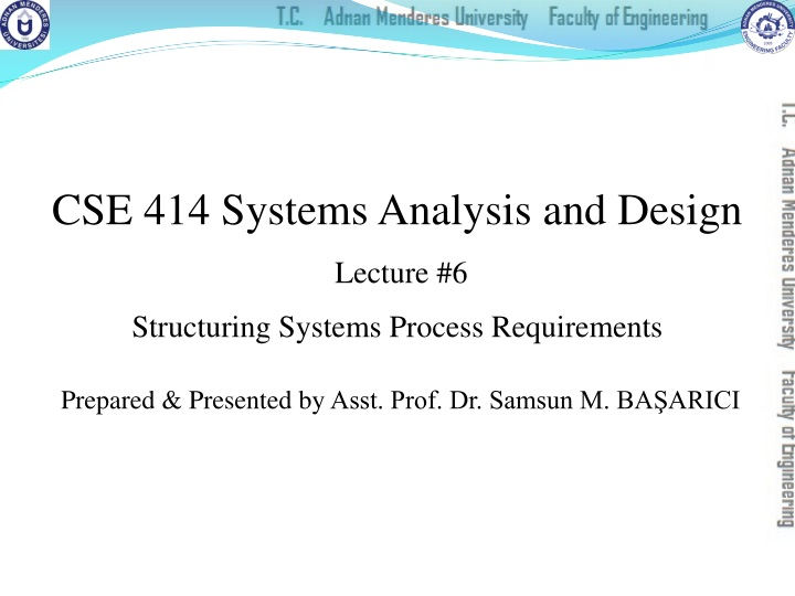 cse 414 systems analysis and design lecture n.